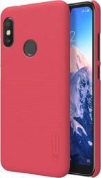Nillkin Etui Frosted Shield Xiaomi Mi A2 Lite Czerwony