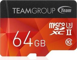 Karta MicroSD Team Group 64GB Team XTreem UII