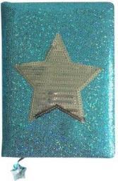Stnux Notatnik A5 Niebieski Gwiazdka 80k