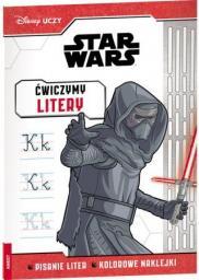 Disney Uczy. Star Wars. Ćwiczymy litery