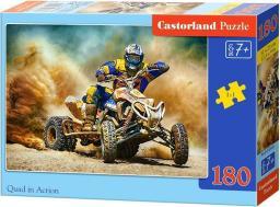 Castorland Puzzle 180 elementów - Quad w akcji (018420)