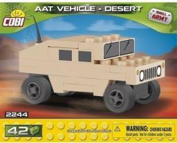 Cobi Klocki Mała Armia NATO AAT Vehicle Desert Nano