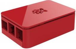 Obudowa Raspberry  Foundation Case do  Raspberry Pi 3B / B+, czerwony