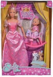 Simba Lalki Steffi i Evi Królowa z królewną (105733223)
