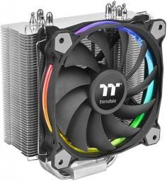 Chłodzenie CPU Thermaltake Riing Silent 12 RGB edycja Sync (wentylator 120mm, TDP 150W) (CL-P052-AL12SW-A)