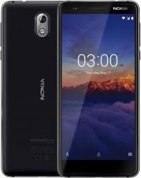 Smartfon Nokia 3.1 Czarny 16GB