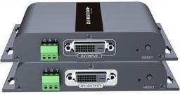 System przekazu sygnału AV Techly Extender DVI HDbitT do 120m (100525)