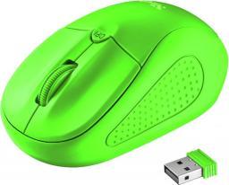 Mysz Trust Primo bezprzewodowa neonowy zielony (21922)