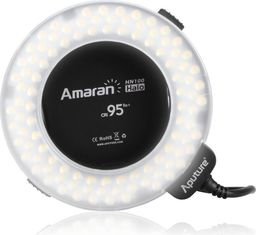 Lampa pierścieniowa Aputure Lampa pierścieniowa Macro LED Aputure Amaran HN100