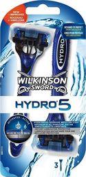 Wilkinson Sword MASZYNKI JEDNOCZĘŚCIOWE HYDRO5 3szt.