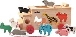 Woodyland Ciężarówka - sorter ze zwierzętami