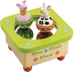 Tidlo Pozytywka dla dzieci Krówka i świnka