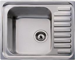 Teka Zlewozmywak 1-komorowy Classico 1C MTX z ociekaczem 65 x 50cm stalowy (30000053)