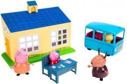Tm Toys Peppa - Zestaw szkoła z autobusem (06593)