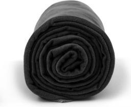 Dr.Bacty Ręcznik szybkoschnący czarny 70x140cm (DRB-XL-099V2)