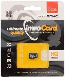 Karta MicroSD Imro Imro Microsdhc 8gb Kl.10 Bez Adaptera