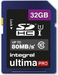 Karta pamięci Integral Integral Ultimapro - Karta Pamięci 32gb Sdhc/xc 80mb/s Class 10 Uhs-i U1