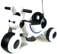 Artyk Trójkołowy jeździk na akumulator biały