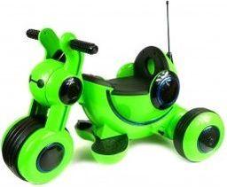 Artyk Trójkołowy jeździk na akumulator zielony
