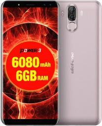 Smartfon UleFone Power 3 64 GB Dual SIM Złoty  (UF-PO3/GD                      )