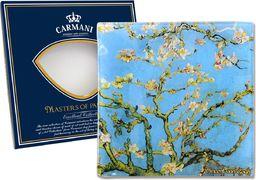 Carmani Talerz dekoracyjny Van Gogh - Kwitnący migdałowiec /box