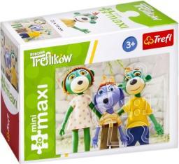 Trefl Puzzle, 20 elementów mini maxi. Rodzina Treflików - Dzień pełen wrażeń (21067 TR)