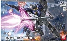 Figurka HG 1/144 Rx-79[Gs] Gundam Ground Type-S (Gundam Thunderbolt Ver.)