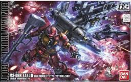 Figurka HG 1/144 Ms-06R Zaku II High Mobility Type Psycho Zaku (Gundam Thunderbolt Ver.)