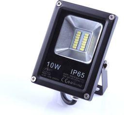 Naświetlacz Art Lampa zewnętrzna LED ART,10W,SMD,IP65, AC80-265V czarna 6500K-CW (4101731)