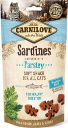 CARNILOVE Carnilove Cat Snack Fresh Soft Sardine+Parsley 50g