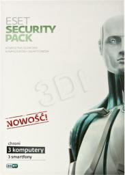 ESET Security Pack (3 st./1 rok)