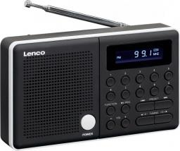 Radio Lenco black/white (MPR-034)