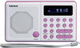 Radio Lenco white/pink (MPR-034)