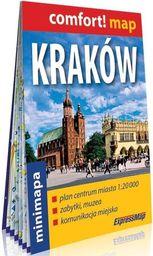 Comfort! map Kraków 1:20 000 plan miasta