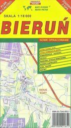 Bieruń 1:18 000 plan miasta PIĘTKA