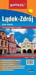 Plan miasta - Lądek-Zdrój 1:6 000