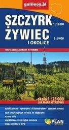 Mapa sztabowa - Szczyrk, Żywiec i okolice 1:25 000