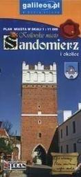 Plan miasta - Sandomierz i okolice 1:11 000