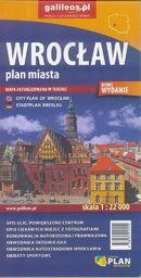 Plan miasta - Wrocław 1:22 000