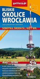 Mapa - Bliskie okolice Wrocławia cz. połud-wsch