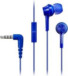 Słuchawki Panasonic RP-TCM115E-A niebieskie