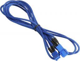 BitFenix Przedłużacz do wentylatorów 3-Pin 60cm - opływowy niebieski (BFA-MSC-3F60BB-RP)