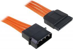BitFenix Przejściówka Molex na SATA 45cm - opływowa pomarańczowo czarna ( BFA-MSC-MSA45OK-RP )