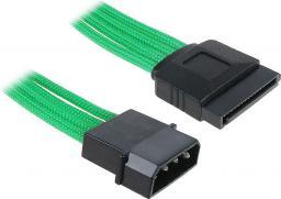 BitFenix Przejściówka Molex na SATA 45cm - opływowa zielono czarna (BFA-MSC-MSA45GK-RP)