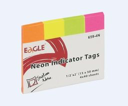Tung Yung International Ltd. Notes samoprzylepny 15x50 zakładka 659-4N EAGLE