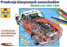 Przekroje klasycznych samochodów. Modele 1960-1990