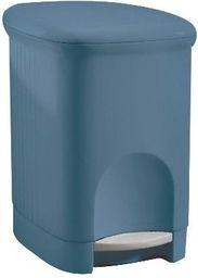 Kosz na śmieci Meliconi na pedał 5L niebieski (14107570034BABLUE)
