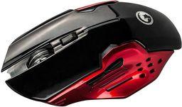 Mysz Marvo M416 Optyczna 2400 Dpi czarny/czerwony