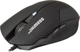 Mysz Marvo M205 Optyczna 1600 Dpi czarny