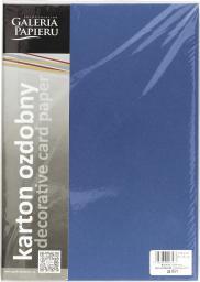 Argo Papier Karton Ozdobny A4 Millenium Szafirowy 20k